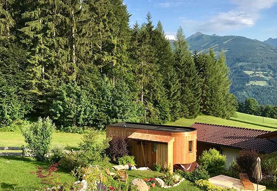 Tiny House in Ramsau am Dachstein für Auszeit mit Massage in den Bergen