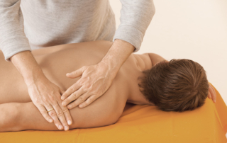 Massage Behandlung
