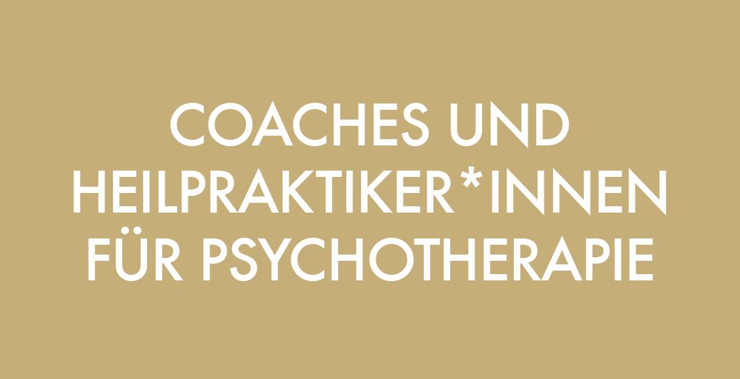 Massage Ausbildung für Coaches-Heilpratiker für Psychotherapie