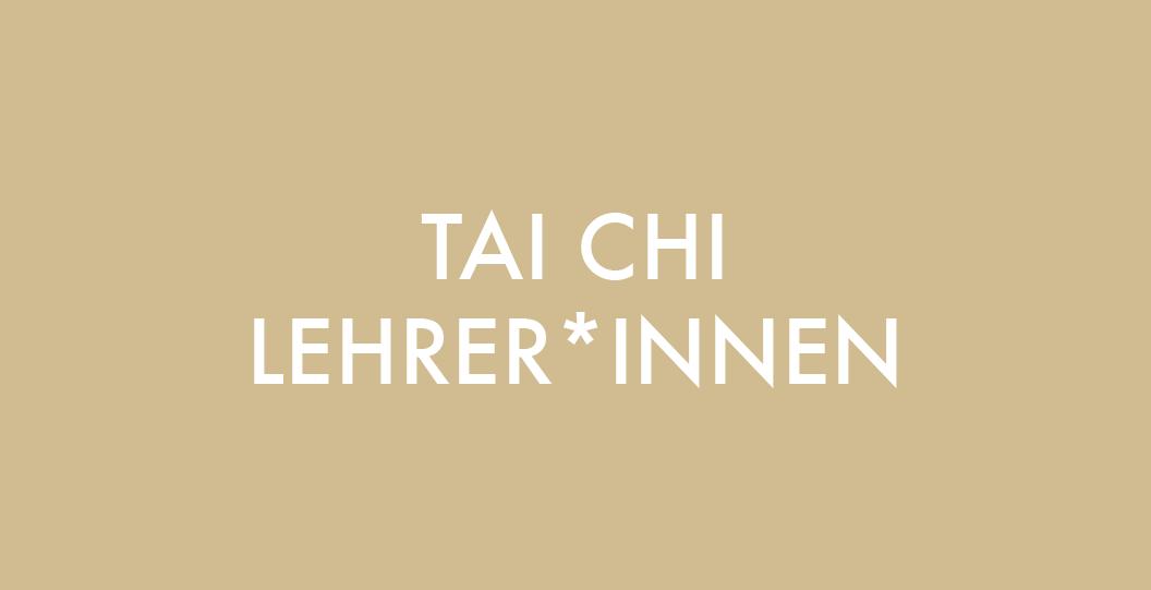 Massage Ausbildung für Tai Chi Lehrer