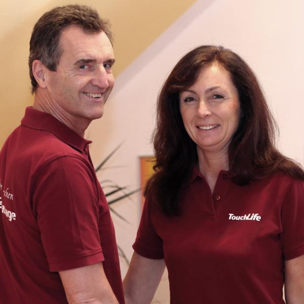 Wolfgang Eichenauer und Angela Schneider, TouchLife Massage-Lehrer
