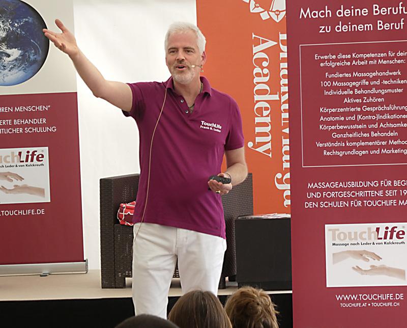 Just Love Festival, Bühnenprogramm, Speaker Frank B. Leder