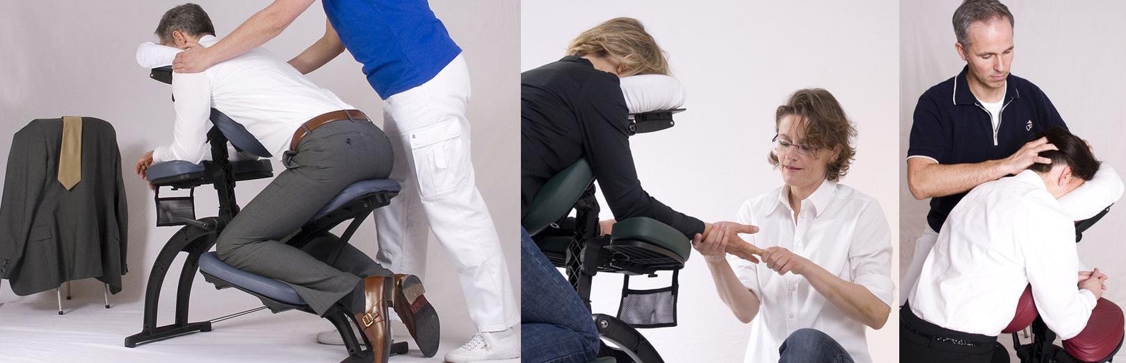 Mobile Massage am Arbeitsplatz